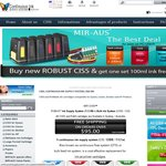 $15 off When You Spend over $100 @ MIR-AUS CISS, Ink Supply System, Papers, and Inks