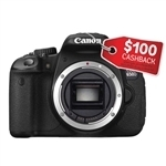 Canon EOS 650D Body Only Australian Stock - $578.85 after $100 Cashback Via Canon. FREE SHIPPING