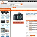 AU Canon EOS 6D Body - $1979, 24-105 Kit $2850 Free Pickup SYD $15.90 Shipping