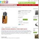 Stanley Rogers Versatile 7pc Knife Block $35.95 + Shipping RRP $179, Reku.com.au or Instore