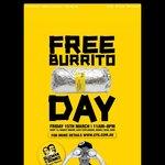FREE Burritos All Day Guzman Gomez Friday 15/03 Manly NSW