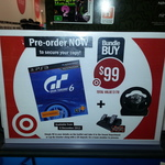 (GT6) Gran Turismo 6 + 3rd Earth Steering & Pedals $99 Pre-Order @ Target (in-Store)