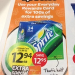 Sprite/Fanta/Lift 24 Pk @ Woolworths $12.94 (1/2 Price) - Everyday Rewards Req (Free to Join)