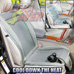 Car AUTO Truck Seat Cover Cushion Adjustable Cooler Fan Air Conditioned 12V DC $49.9 FREE SHIP