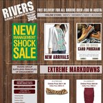 Rivers Clogs $3.95