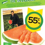 Seedless Watermelon 55c/kg @ Woolworths NSW/VIC