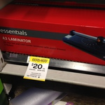A3 Laminator with Paper Trimmer $20 Woolworths Werribee Plaza VIC