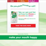 Free Tic Tac Sample & Bumper Sticker
