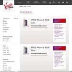 iPhone 6 Now Back in Stock Virgin Mobile 64GB ($60/Mth) Bonus 2GB Data