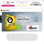 CyberGhost 5 VPN Special Edition 12 Months FREE - Only 4500 Keys