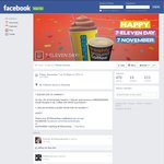 Free Small Slurpee with Any Purchase (Cheapest Is Chupa Chup - 20c) on 7-Eleven Day