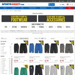 SportsDirect up to 90% off. Slazenger, Pierre Cardin Shorts, T-Shirts from $1