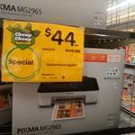 Canon Pixma MG2965 Printer for $44 at Woolworths