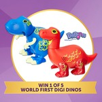 Win 1 of 5 World Exclusive Digi Dinos from Target