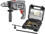Ozito 1010w Corded Hammer Drill With 70 Piece Accessory Kit $29 @ Bunnings Warehouse