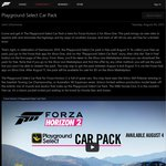 [Xbox One] FREE DLC for Forza Horizon 2 - Playground Select Car Pack