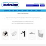 10% off for OzBargainers on Online Bathroomware