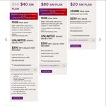 Virgin $40/Month BYO Plan with 10GB Data (Was $60) No Contract