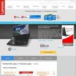 "Lenovo ThinkPad E460 14"" i5-6200U 4GB RAM/1TB HDD $699 Delivered"