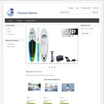 Easter Sale on Inflatable Stand up Paddle Boards - 20% off & Free Paddle @ Premium Marine
