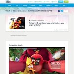 Win 1 of 50 Double Movie Passes to The Angry Birds Movie from Student Edge
