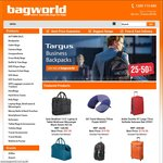 10% Off Coupon Code When You Spend $69.95+ at Bagworld.com.au