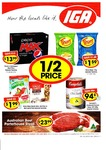 IGA 8/6: 30pk Can Pepsi/Schweppes $13.99, Thins $1.59, Campbell's Condensed Soup $1.99, Uncle Toby's Museli Bars $1.99