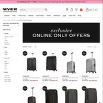 Myer Samsonite Comoslite 60% off (Black / Silver)