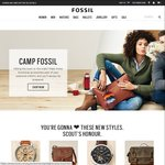 25% off Full-Priced Items at FOSSIL (Leather Goods and Watches)