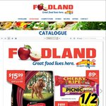 [SA] Foodland 1/2 Price: Cadbury Bars $0.89, Vittoria Grounded/Beans 1kg $19, Frantelle 24pk $6.50, Drumstick 4pk $4 + Full List