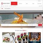 Earn Double Qantas Frequent Flyer Points (200 Points Per Person until 31 Dec) for Qantas Restaurant Website Bookings