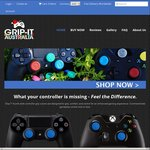 [PS4 PS3 Xbox One & 360] 10% off Grip-It Controller Analog Stick Covers $12.38 + Free Shipping @ Gript-iT