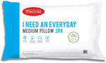 Tontine: 10 Everyday Medium Pillows + 2 Quilted Pillow Protectors for $35 Delivered