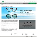 SpecSavers - Free Polarising on Your 2nd Pair of Glasses from $199 or above (Save $100)