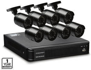 8 Camera Home Security System With 1tb Dvr 299 Aldi