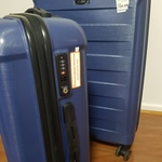 2 Pc Polycarbonate Skylite Suitcases (75L Large & 39L Medium) for $59 (RRP $99) from ALDI Majura Park ACT
