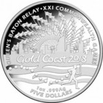 2017 Queen's Baton Relay Fine Silver Proof Coin $150   Free Shipping   First 20 Customers   Limited Release @ Direct Coins