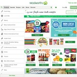 Woolworths Online 5% off, Minimum Purchase $170, Free Shipping by Sunday