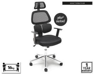 Swell Ergonomic Office Chair For 99 99 Aldi Special Buys Machost Co Dining Chair Design Ideas Machostcouk