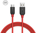 BlitzWolf® Ampcore BW-TC6 3A USB Type-C Braided Charging Data Cable 1.8m @ Banggood - $4.99 USD (~ $6.74 AUD) Delivered