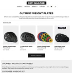 [Brisbane Only] EOFY Sale: 15% off Olympic Weight Plates. Weights from $2.30/kg - gymgarage