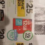 Vodafone $50 Starter Kits for 1/2 Price at Woolworths - Now $25 incl 12GB data w 35 day expiry