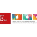 15% off iTunes Cards at Target