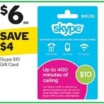 20% off Amaysim Recharges, 40% off Skype Gift Cards @ Woolworths