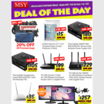 MSY Instore Deals: Thermaltake Smart Pro RGB Fully Modular PSU's ($80 for 650 Watts), Dual LG 22M38D-B LCD with VESA mount $257