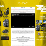 Win a ZOTAC Cup Masters Official Gaming System or 1 of 11 Minor Prizes from ZOTAC