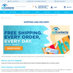 Free Shipping with No Minimum Spend @ Ozcontacts
