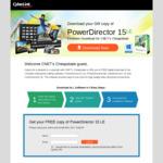 Free Cyberlink Power Director 15 Light Edition bundle