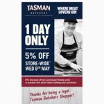 [VIC] 5% off Storewide @ Tasman Meats