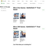 [XB1, PS4] $0 Battlefield 4 Final Stand (Was $21.95) | Battlefield 1 in The Name of The Tsar (Was $24.95) @ Xbox & PlayStation